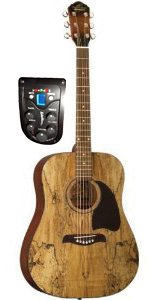 Oscar Schmidt OG2CESM Select Spruce Mahogany Dreadnought Acoustic-Electric Guitar – Spalte ...