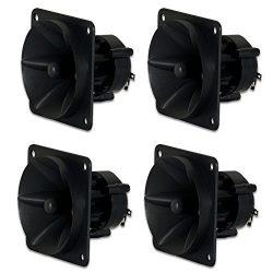 Goldwood Sound, Inc. Sound Module, Piezo Horn Tweeters 75 Watts each 4 Piece Pack Replacements f ...