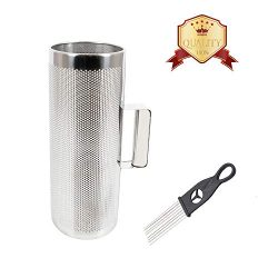 EastRock Stainless Steel Guiro Shaker 12″ 5″ Percussion Instrument Musical Training  ...