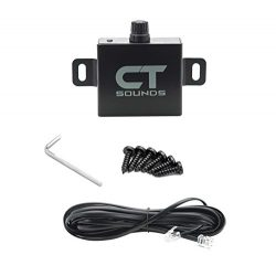 CT Sounds Amplifier Bass Knob Control – T Series Amp, Easy Installation, 8-Pin Cat5 Easy C ...