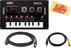 Korg Nu:Tekt NTS-1 Digital DIY Synthesizer Bundle with MIDI Cable, Aux Cable, and Austin Bazaar  ...