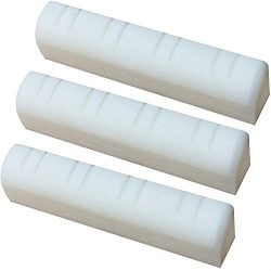 Mandolin Nut 30.5x5x7mm with 8 String Slots Replacement Pack of 3