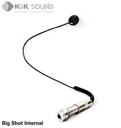 K&K Sound Big Shot Internal Guitar/Instrument Pickup with Endpin Jack