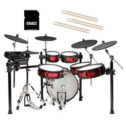 Alesis Strike Pro SE Electronic Drum Set with Gibraltar Hardware and SD Card