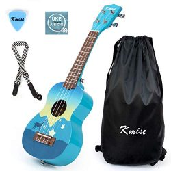 Soprano Kids Ukulele 21 inch Instrument Gift Toy for kids with Carry Bag Tuner String