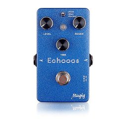 Guitar Effect Pedal, Mugig Electric Guitar Echo Delay Effects, True Bypass, Adjustable LEVEL/REG ...