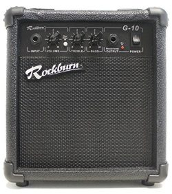 Rockburn Amp-10 Watt Amplifier for Electric Guitar (BC-10S-BK)