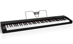 Souidmy Digital Piano, 88 Key Full-Size Electric Keyboard Piano with Hammer-Action Weighted Keys ...