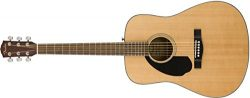 Fender CD-60S Left Handed Acoustic Guitar – Dreadnought Body – Natural