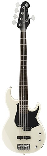 Yamaha BB235 BB-Series 5-String Bass Guitar, Vintage White