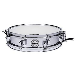 Ddrum Modern Tone Steel Piccolo Snare Drum 14 x 3.5 in.