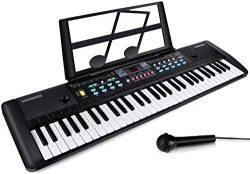 CHUYANG keyboard piano, 61 Keys Piano Keyboard Multifunction Portable Piano Electronic Keyboard  ...