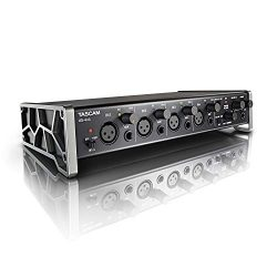 Tascam US-4×4 USB Audio/MIDI Interface with Microphone Preamps and iOS Compatibility
