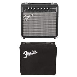 Fender Champion 20 Guitar Amplifier with 8″ Speaker – With Fender COVER, CHAMPION 20
