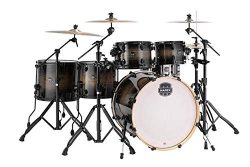 Mapex Armory 6-piece Studioease Fast Tom Shell Pack – Black Dawn