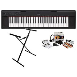 Yamaha NP12B KIT Piaggero 61 Key Digital Piano
