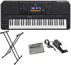Yamaha PSR-SX700 Digital Arranger Workstation w/Cloth, Stand, and Pedal