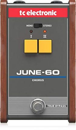 TC Electronic Electric Guitar Single Effect (JUNE-60 CHORUS)