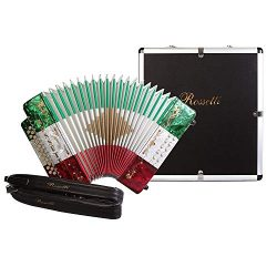 Rossetti, 31-Key Accordion (ROS3112-FBE-MEX)