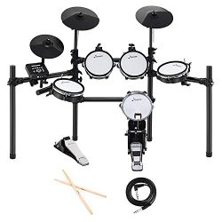 Donner DED-200 Electric Drum Set Kit Electronic with 5 Drums 3 Cymble, Electric Drum, Audio Line ...