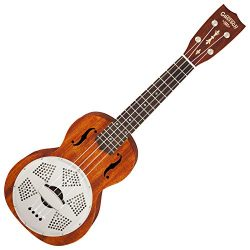 Gretsch G9112 Resonator Ukulele Natural w/Gig Bag