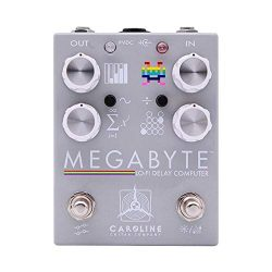 Caroline Guitar Company Megabyte Lo-Fi Delay Computer Guitar Effects Pedal