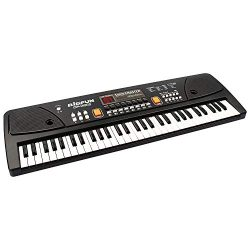 aPerfectLife keyboard piano, 61 Keys Piano Keyboard Multifunction Portable Piano Electronic Keyb ...