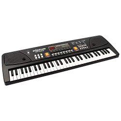 aPerfectLife keyboard piano, 61 Keys Piano Keyboard Multifunction Portable Piano Electronic Keyb ...