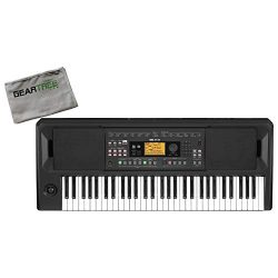 Korg EK50 Auto Accompaniment Keyboard w/Cleaning Cloth