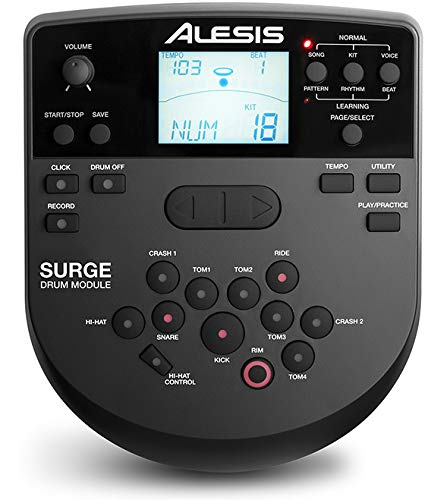 Alesis Surge Drum Module – with Cable Snake Harness and Power Adapter