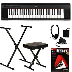 Yamaha Piaggero NP-12 Essential Keyboard Bundle
