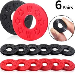 12 Pieces Guitar Strap Locks Silicone Strap Locks Rubber Guitar Strap Blocks Guitar Protector, B ...